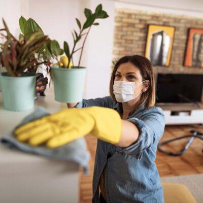 Confinement: conseils pour conserver la propreté de la maison